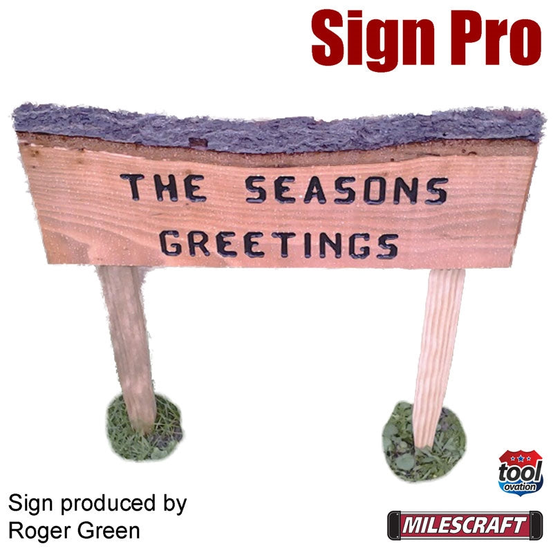 1262 Milescraft SignPro example sign