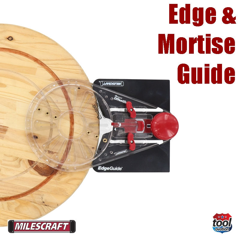 1274 Milescraft Edge & Mortise Guide Kit offset base