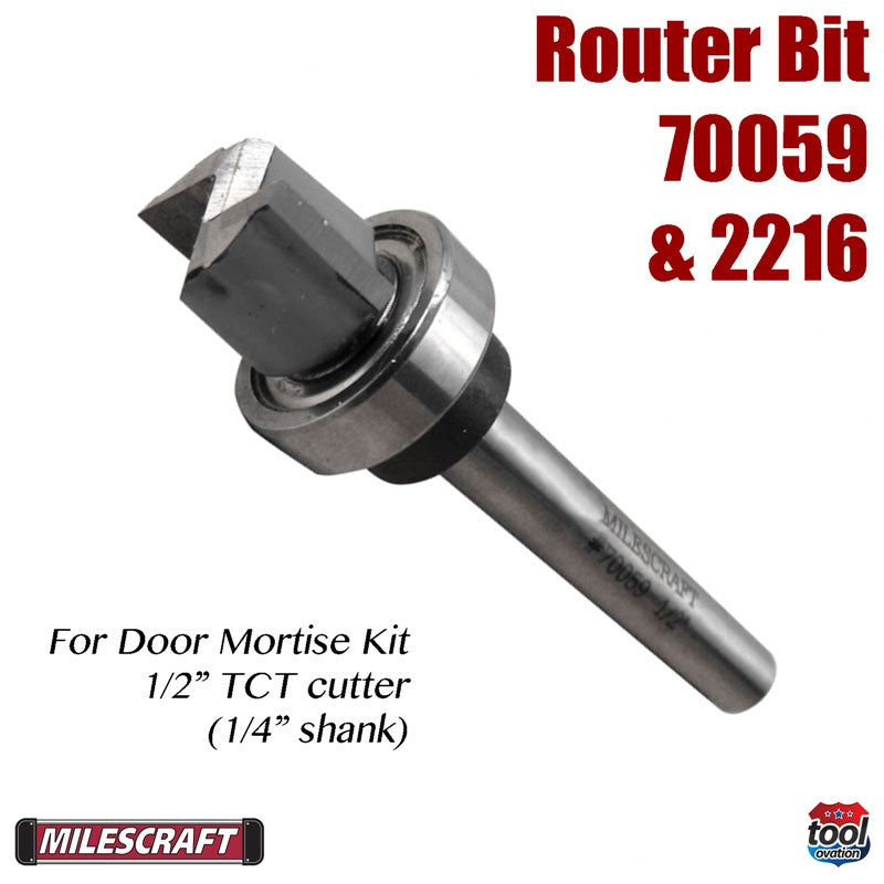"Router Bit - 1-2"" Bearing Guided"