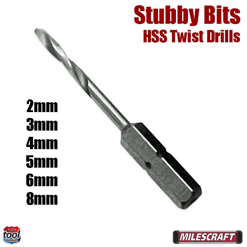Stubby Twist drills - HSS Metric
