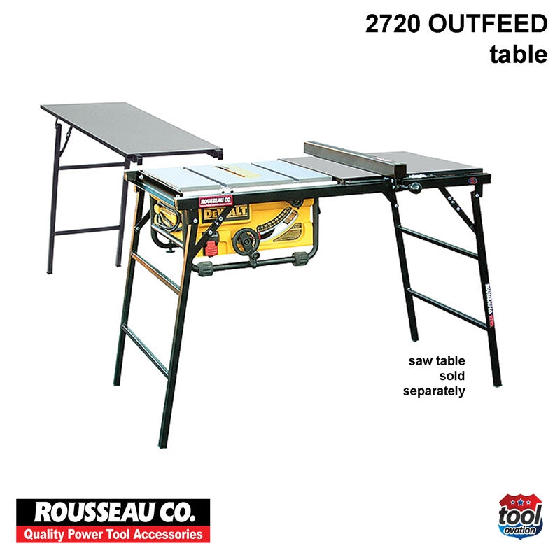 Portable Outfeed Table - 2720