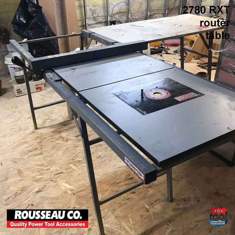 Extension table with router plate - 2780RXT