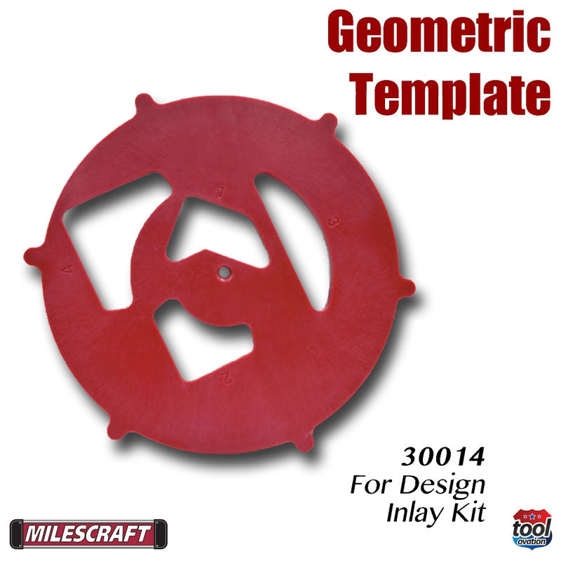 Geometric Template - for Design Inlay Kit