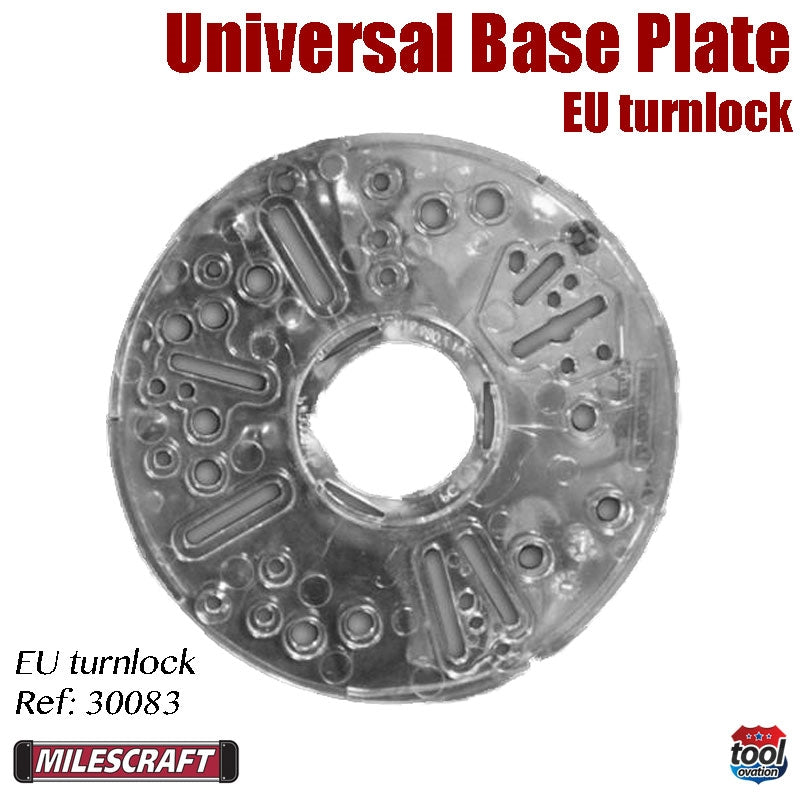 Turnlock Base Plate - For 41mm EU bushes