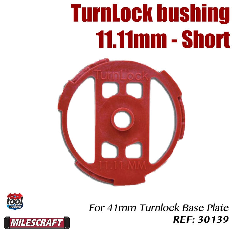 Turnlock Bush - 11.11mm (short)