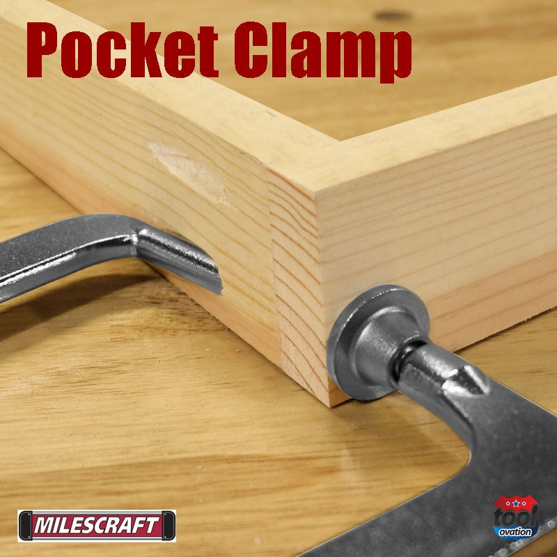 Pocket Hole Clamp 90 - 4 inch capacity