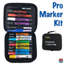 Artline EKPRKIT16 - Artisan PRO Marker Kit with carry case - case contents