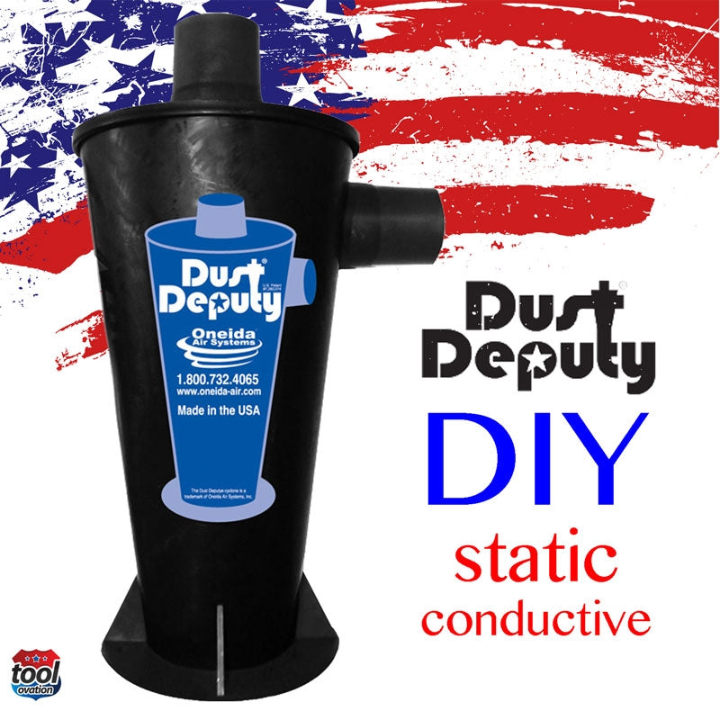 Ondeia AXD001004_SD Dust Deputy - DIY - Static Conductive Cyclone