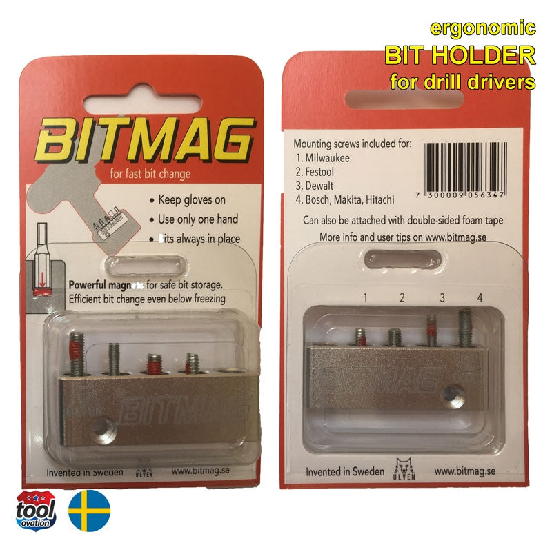 BITMAG Alloy Bit Holder - box contents