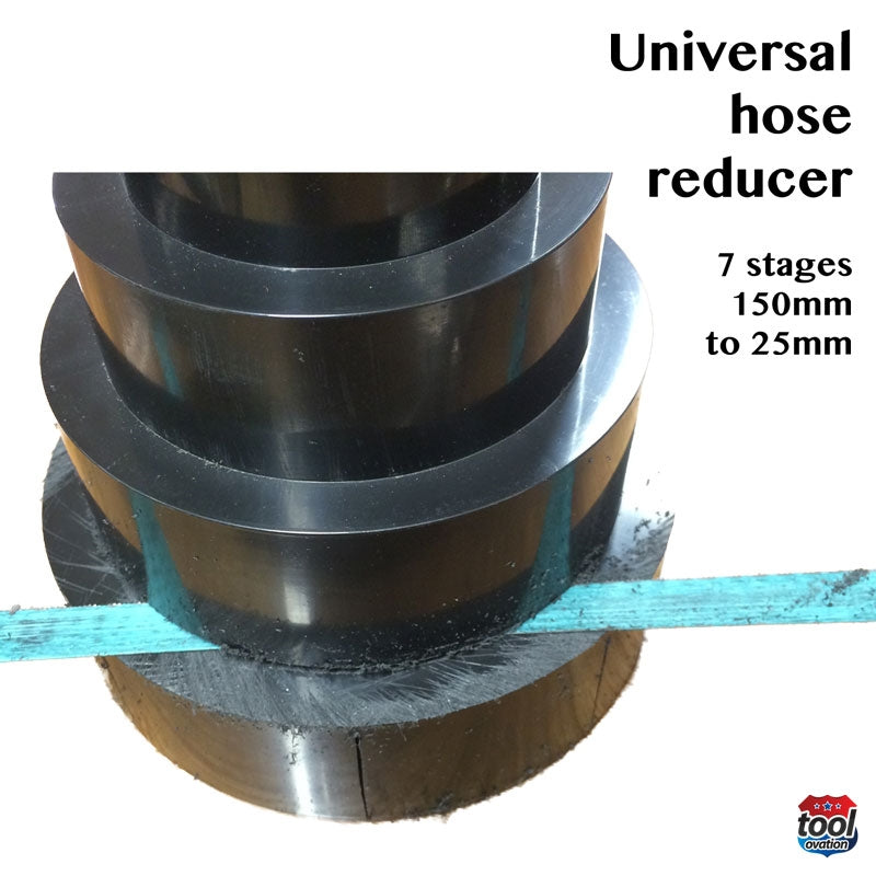 DAC1039 Universal Hose Reducer - saw off each stage for correct diameter