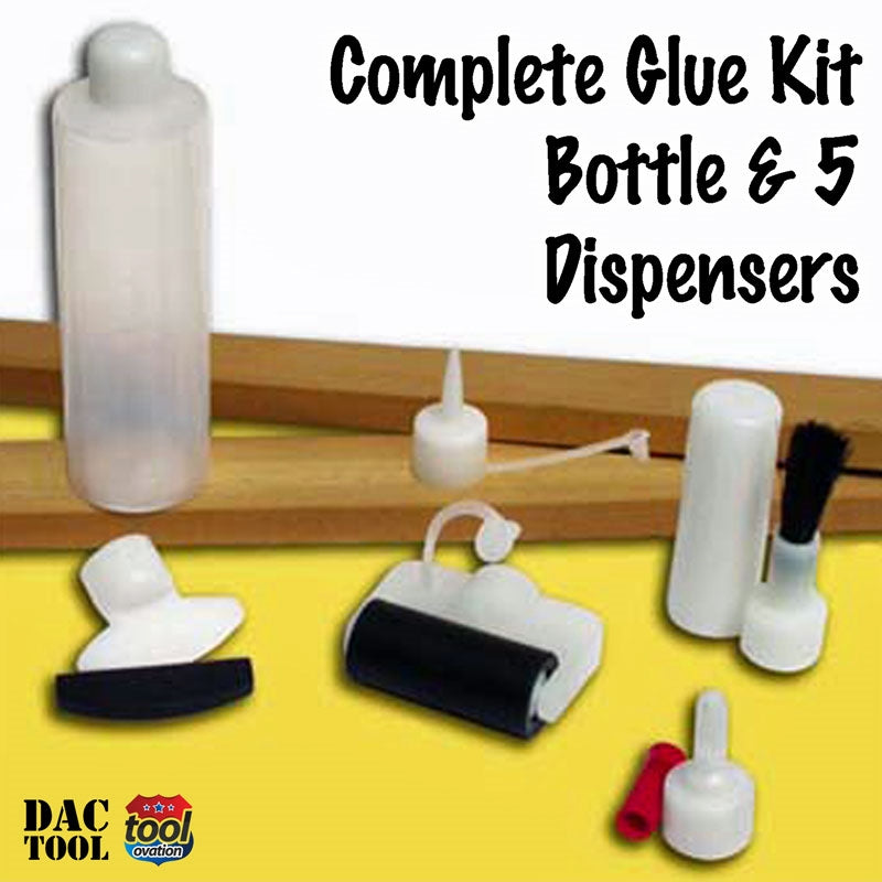 DAC1900 Complete Glue Kit - Twin Pack - pack contents