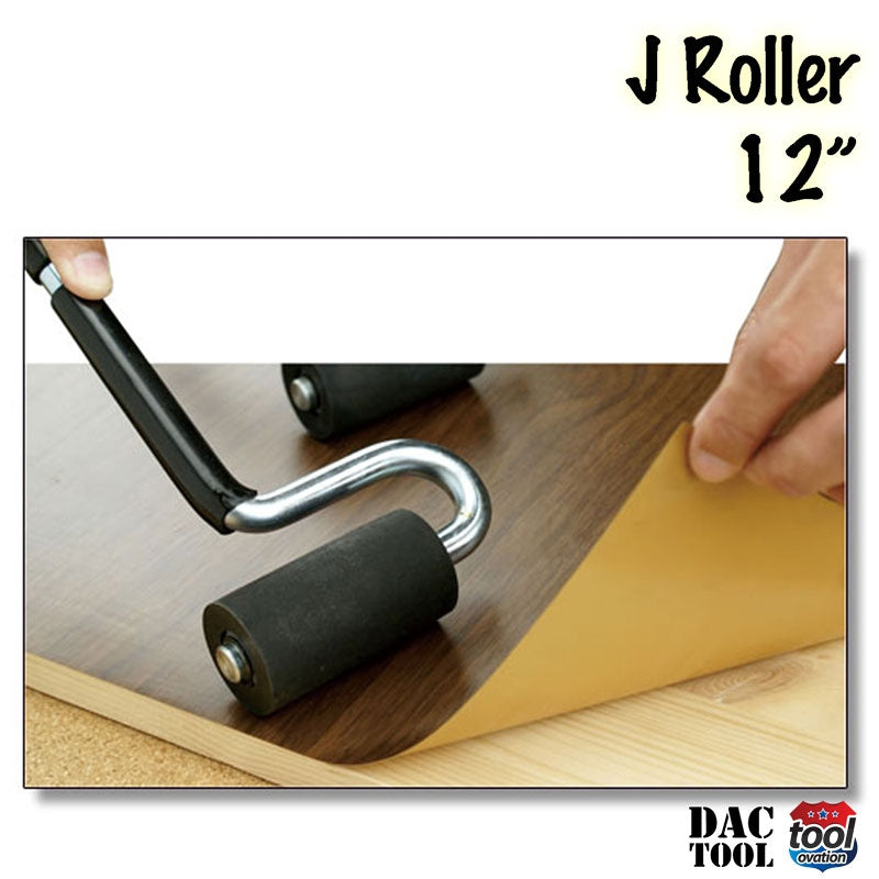 "DAC2064 J Roller - Pro 12"" - demonstrating use with laminate"