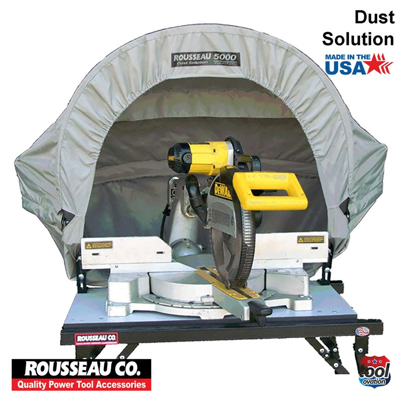 DAC5000 Rousseau 500 Dust Solution for Mitre Saws