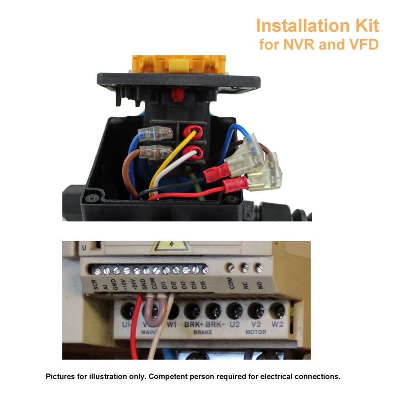 Installation kit for iVAC DEC Pro Switch