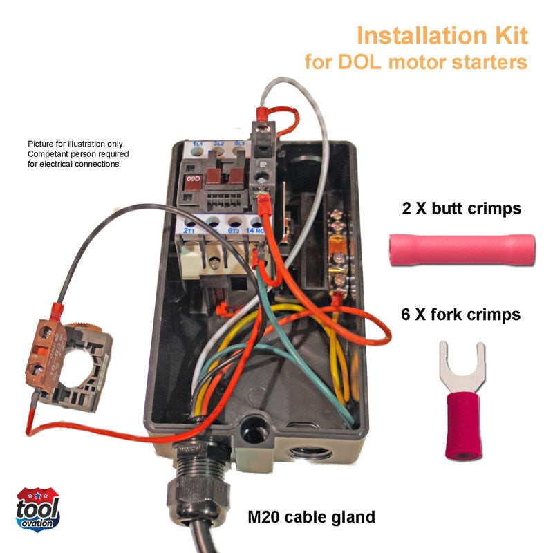 Installation kit for iVAC DOL Pro Switch