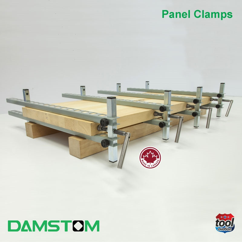 Damstom Panel Clamp - D300 (single) - 4 clamps used to hold together glued rails