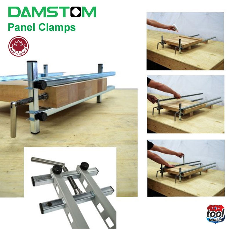 Damstom Panel Clamp - D300 (single) - how to use
