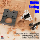 EASY.DRILL Easy Drill Hinge Boring Jig for 35mm concealed hinges