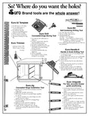 Euro Uniguide - Drawer Guide Locating Tool