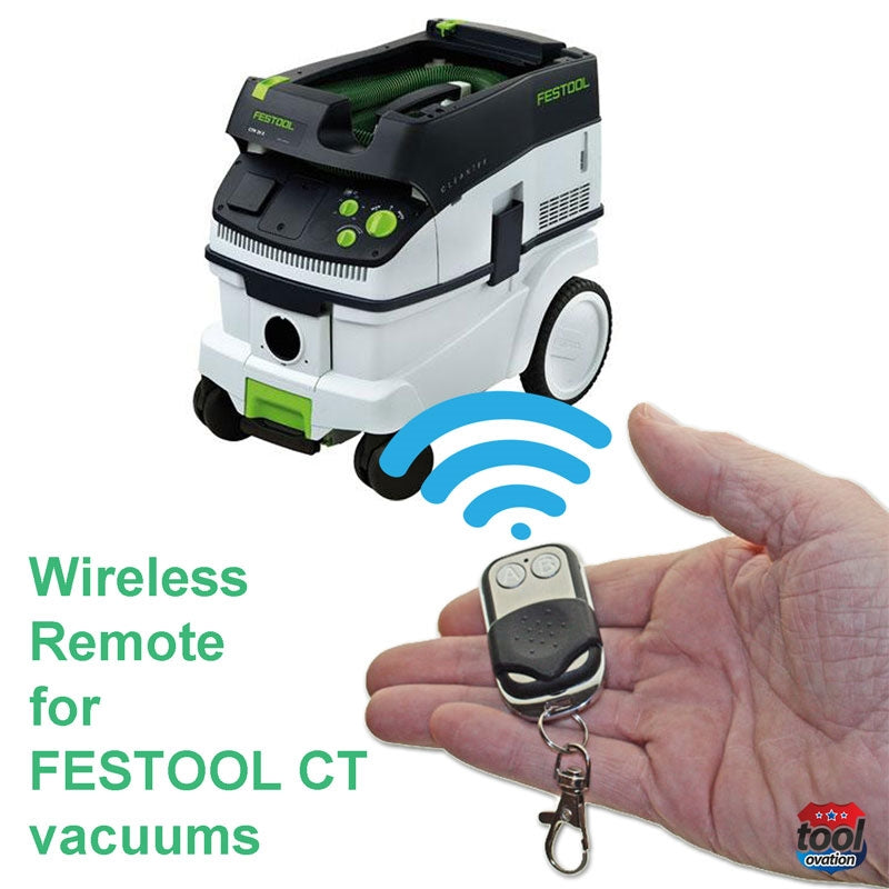 Wireless remote for Festool CT 26-36-48