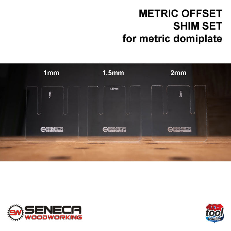 Seneca Metric Offset Shim Set