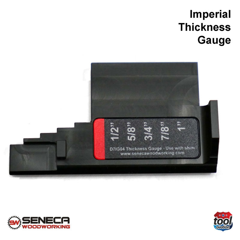 SWD71G04 Seneca Imperial Thickness Gauge - For Festool DF700
