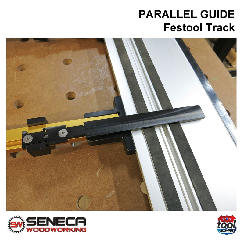 Seneca Parallel Guide - For Festool track guide