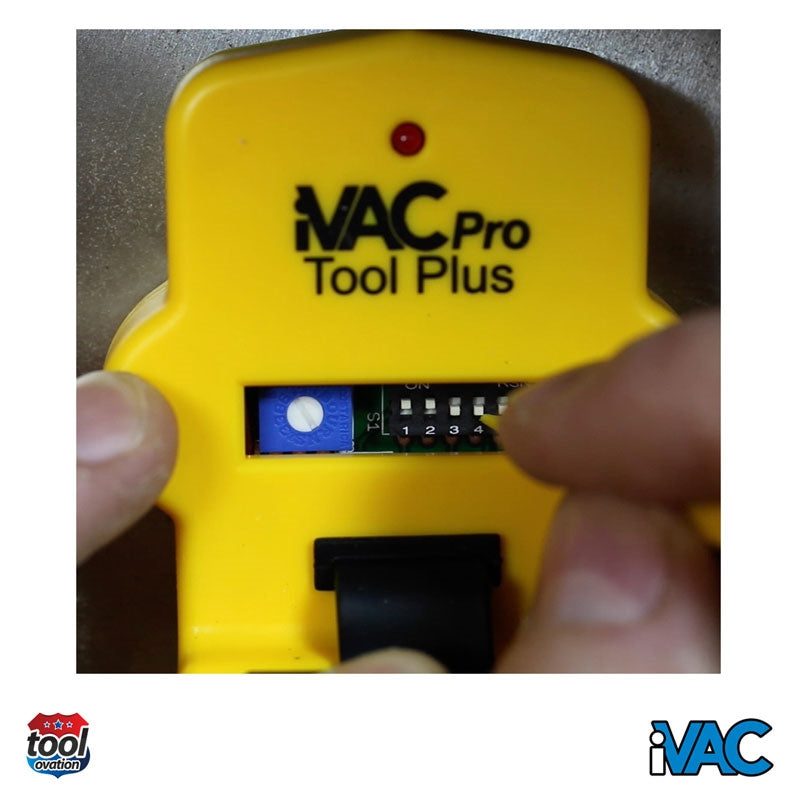 TP-EUK iVAC Pro Tool Plus - Cable Sensor - 230V - easily configured with dip switches