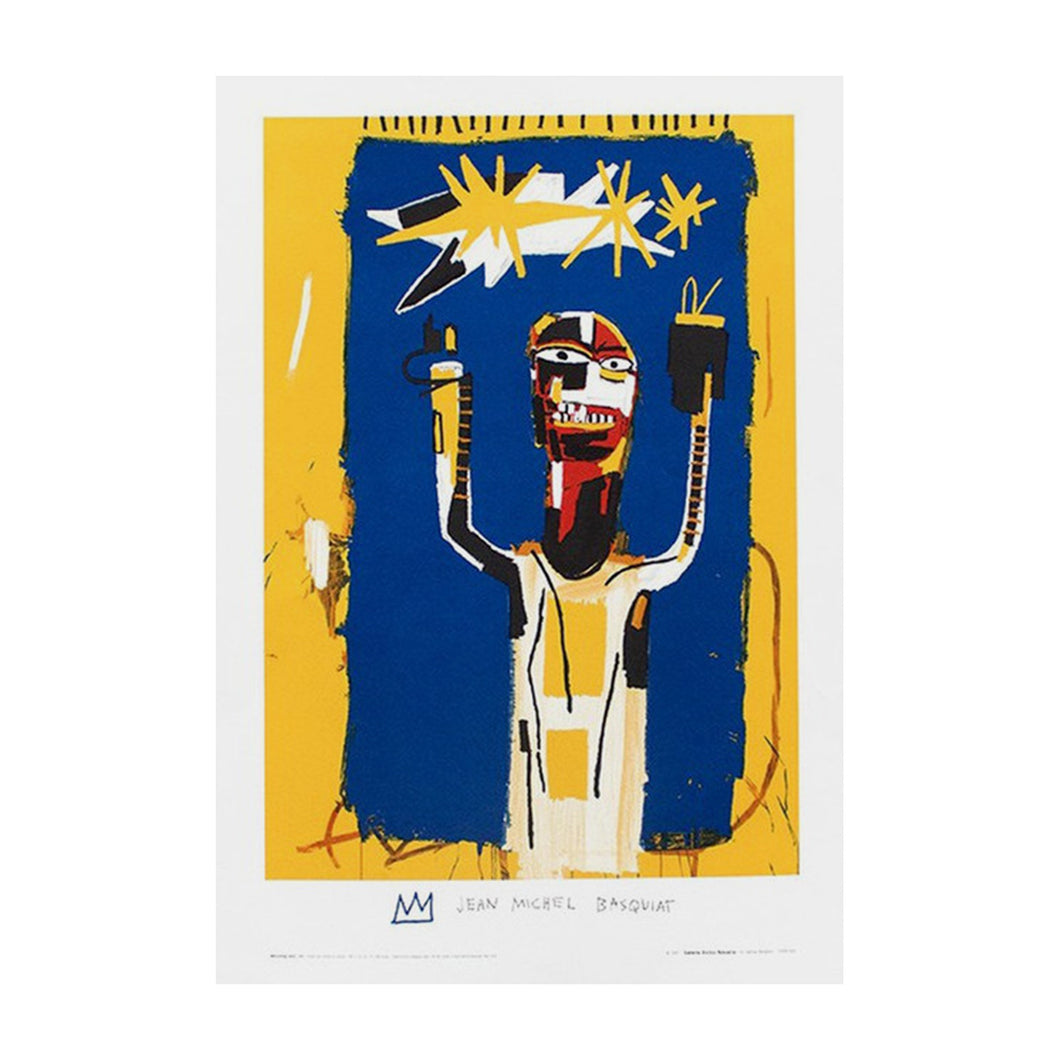 BASQUIAT JEAN MICHEL, Welcoming Jeers, 1997