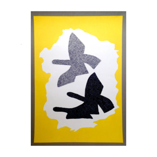 BRAQUE Georges, Colombes, 1958