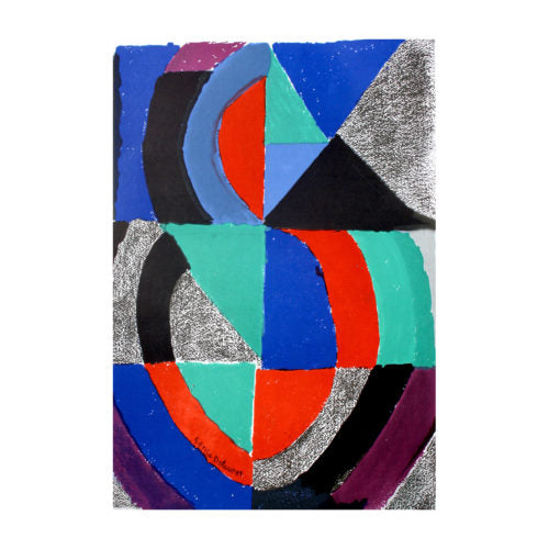 DELAUNAY SONIA, Composition, 1975