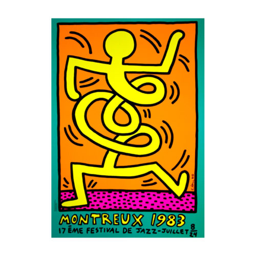 HARING KEITH, Montreux Jazz Festival – Yellow, 1983