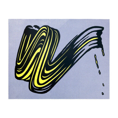 LICHTENSTEIN ROY, Brushstroke, 1965