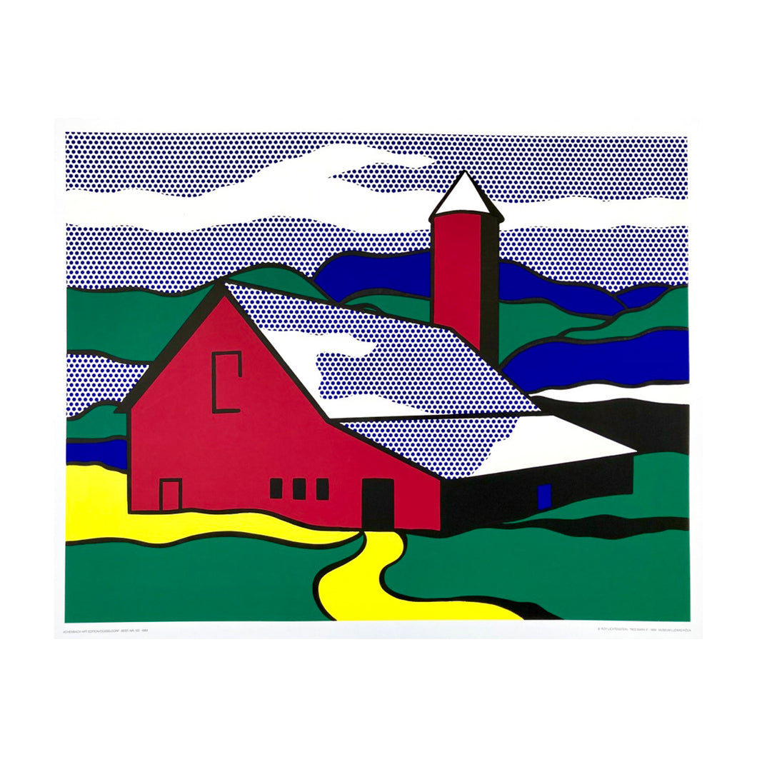 LICHTENSTEIN ROY  Red Barn II, 1989