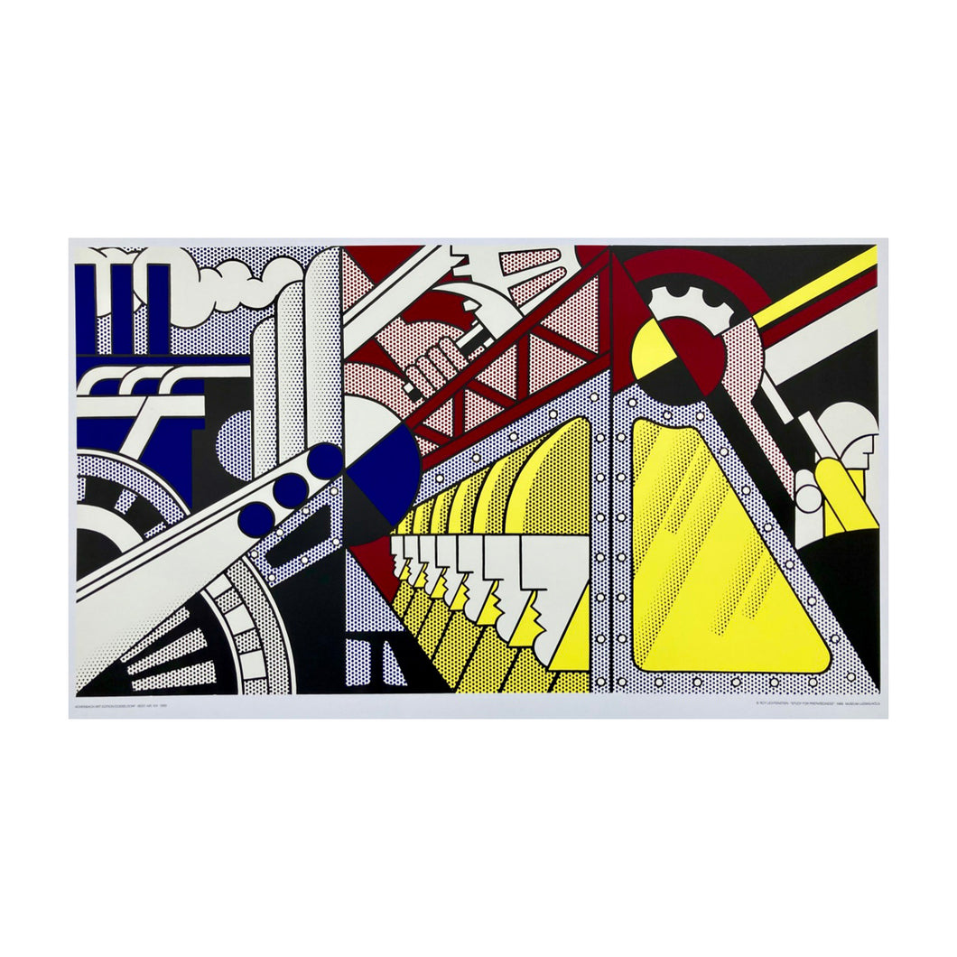 LICHTENSTEIN ROY Study for preparedness, 1989