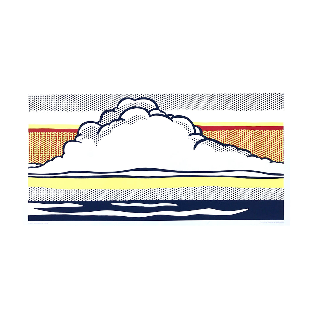 LICHTENSTEIN ROY, Cloud and Sea, 1989