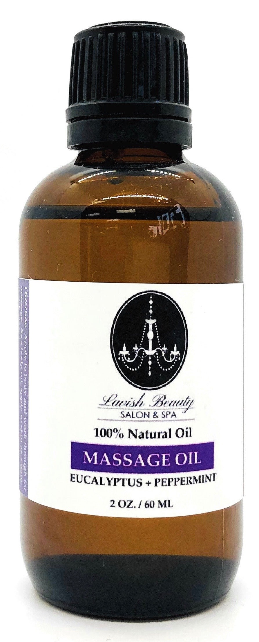 Massage & Body Oil (Eucalyptus + Peppermint) 2 oz.