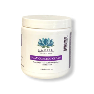 Flax Seed Curly Defining Cream 8 oz.