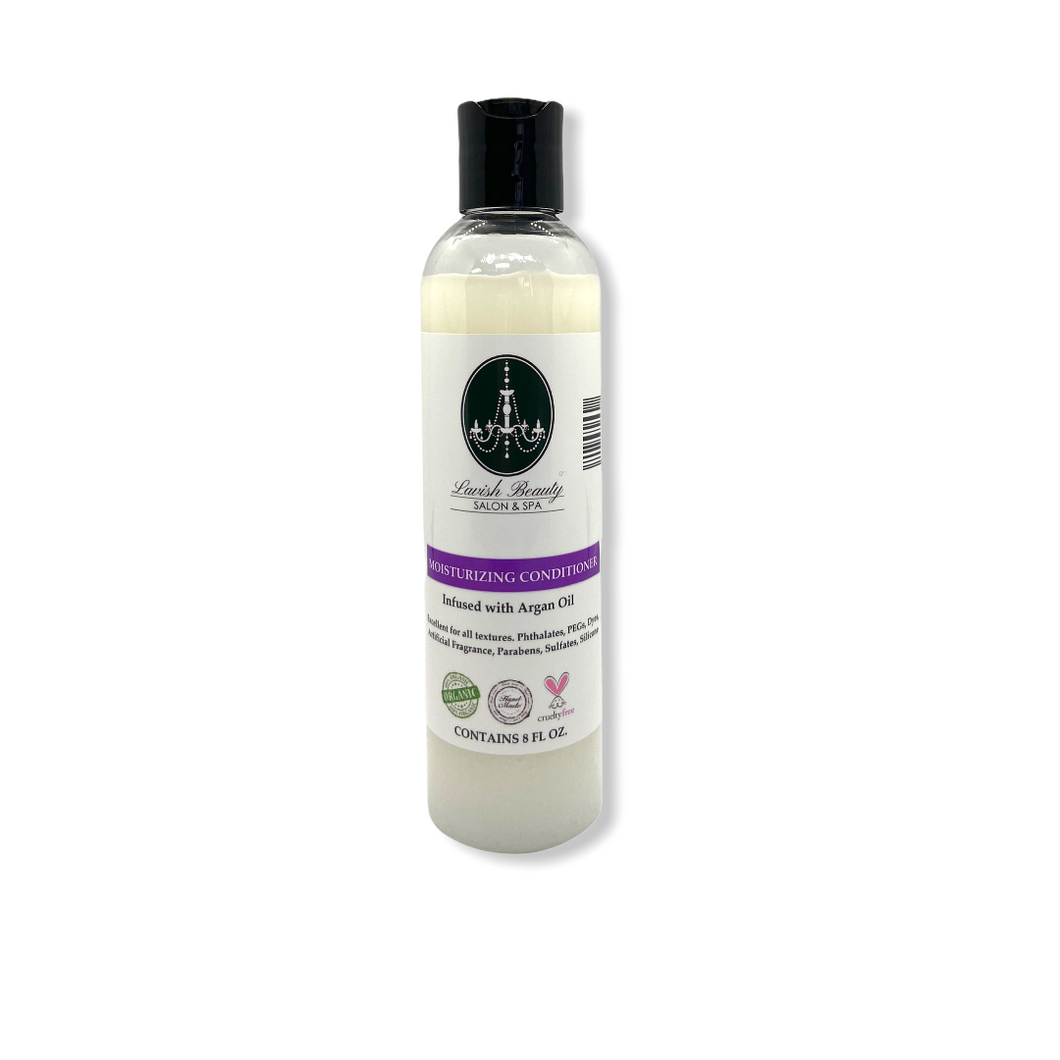 Organic Lemongrass & Rosemary Deep Moisturizing Conditioner 8 oz.
