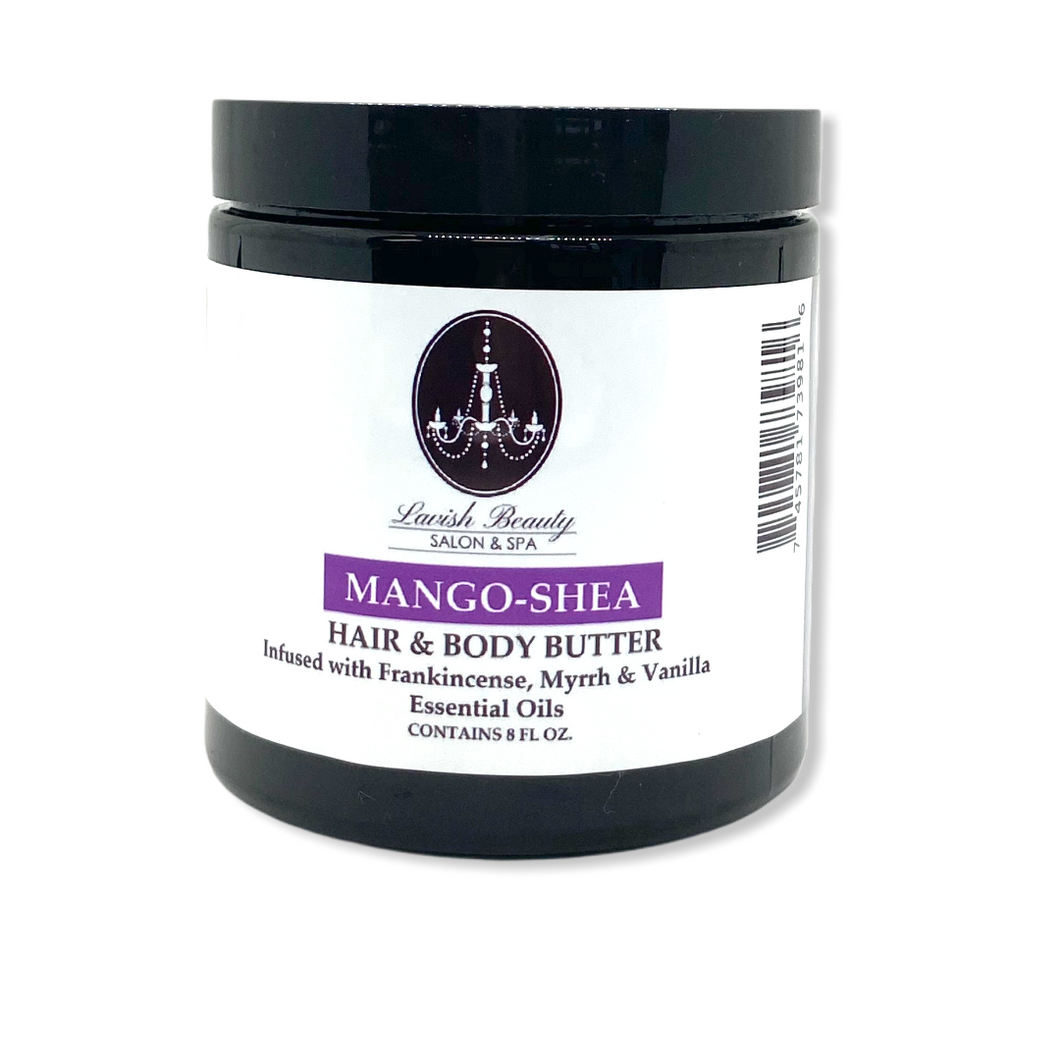 Mango-Shea Hair & Body Butter 8 oz.