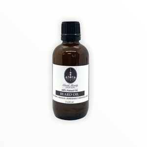 Natural Citrus Mint Beard Oil 2 oz.