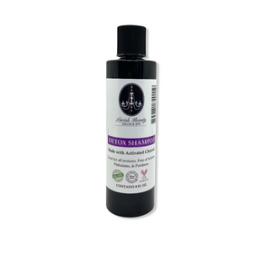 Activated Charcoal Detoxing Shampoo 8 oz.