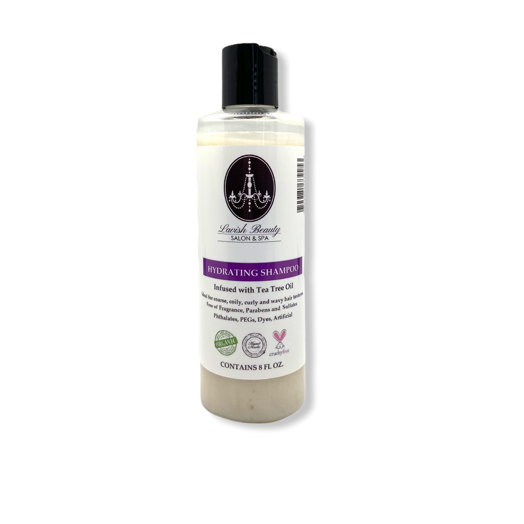 Organic Peppermint & Tea Tree Intense Hydrating Shampoo 8 oz.