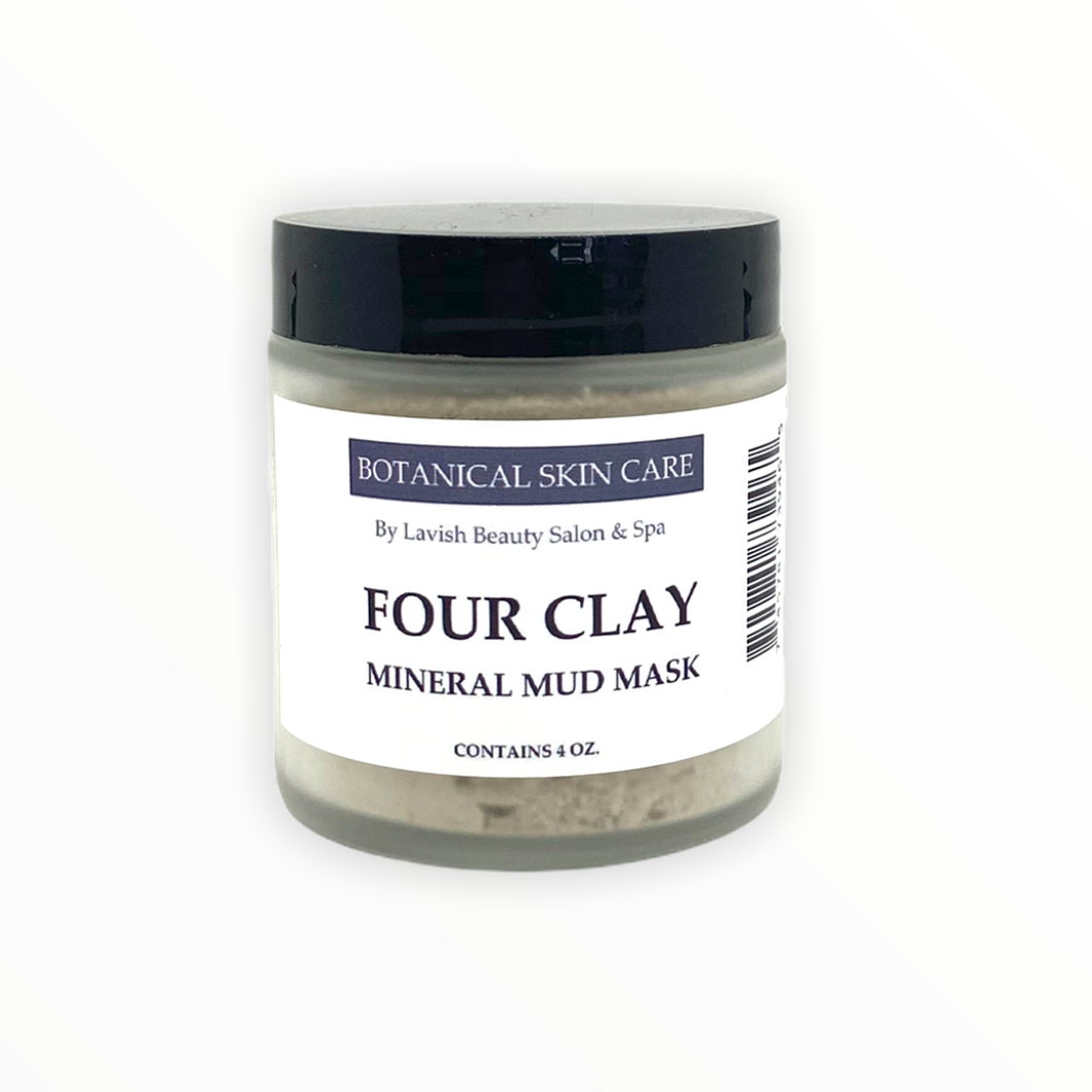 Four Clay Mineral Face Mask 4 oz.