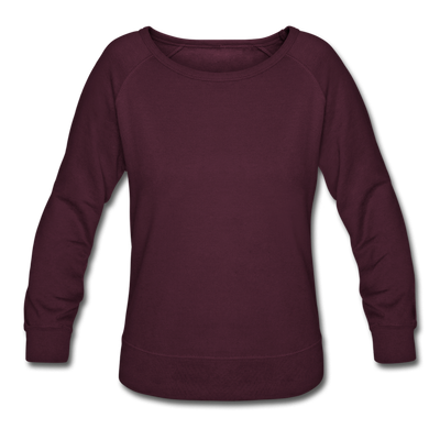 Women's Crewneck Sweatshirt - plum