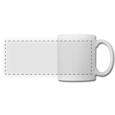 Panoramic Mug - white