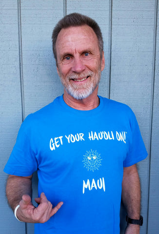 Get Your Hau'oli On T - Royal Blue