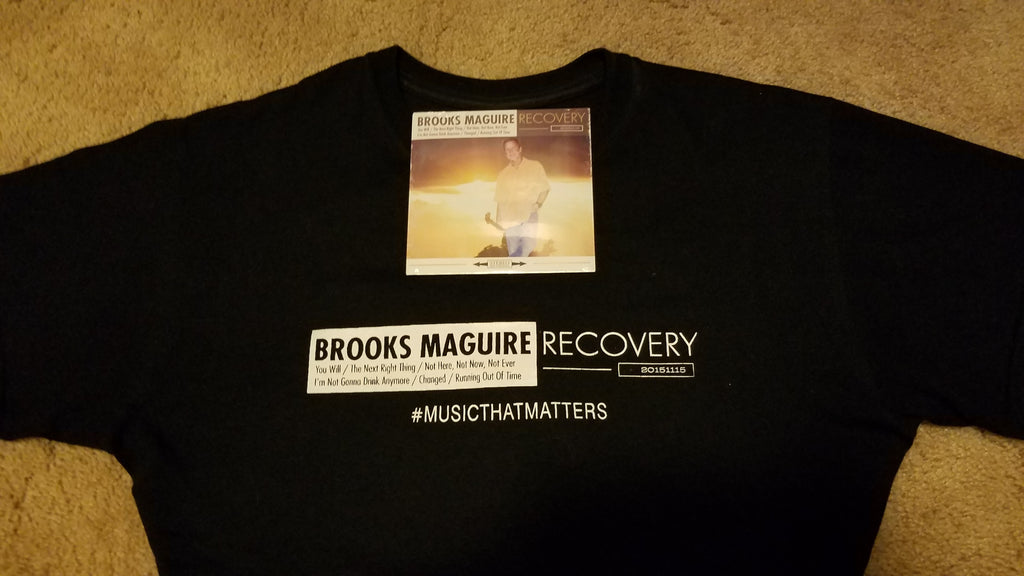 Recovery Tour T-shirt + Recovery CD