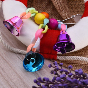 Colorful Swinging Bells Toy