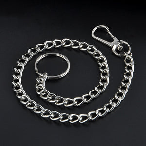 High Quality 23cm Long Metal Chain with Ring Bird Toy Parts Chain